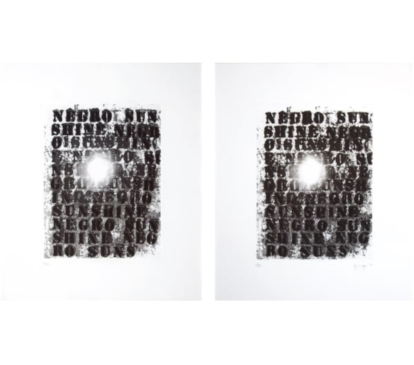 Glenn Ligon: Untitled 1 and 2