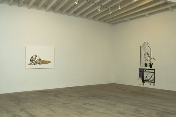 "Installation views of Frances Stark ""Structures that Fit my Opening"" at MARC FOXX, 2006"