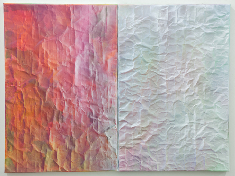 Current Paintings | Pair, # 53 & 62
