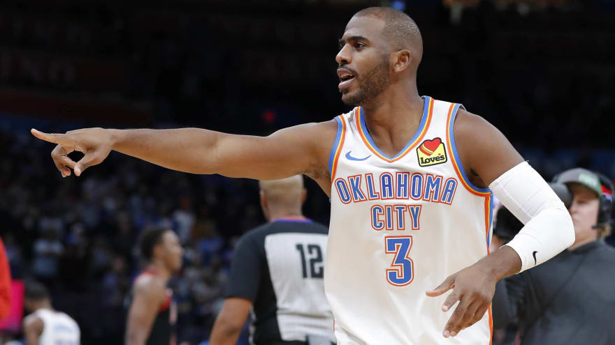 Stuff the Chris Paul trade chatter. He belongs with Thunder.