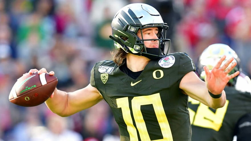 Bengals reportedly will consider Tua Tagovailoa, Justin Herbert, Chase Young for No. 1 pick