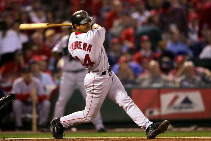 2004: Red Sox acquire Orlando Cabrera and Doug Mientkiewicz from the Cubs for Nomar Garciaparra
