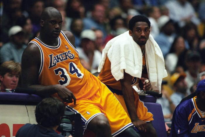 Kobe Bryant and Shaquille O'Neal, Los Angeles Lakers