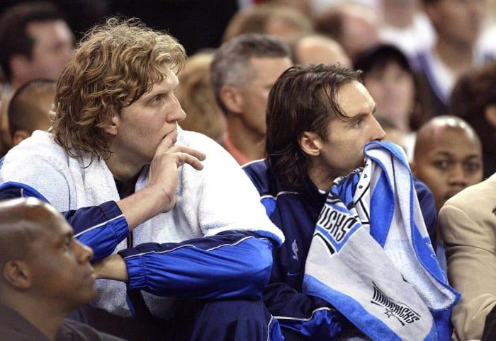 Dirk Nowitzki and Steve Nash, Dallas Mavericks