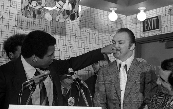 "Ali helps inspire ""Rocky"""
