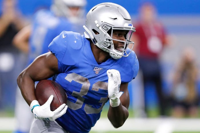 Loser: Kerryon Johnson, RB, Lions