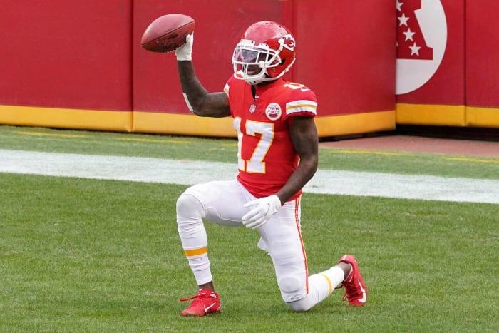 Chiefs: Mecole Hardman, WR