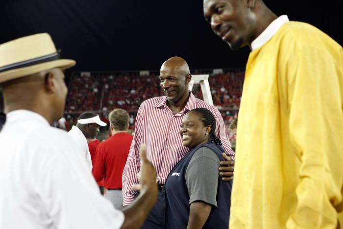 Clyde Drexler and Hakeem Olajuwon, Houston Rockets