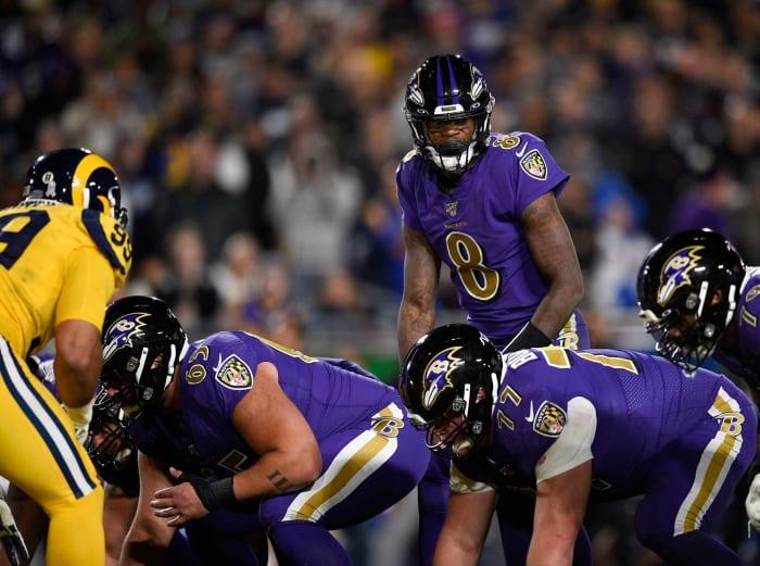 Baltimore Ravens: Offensive line