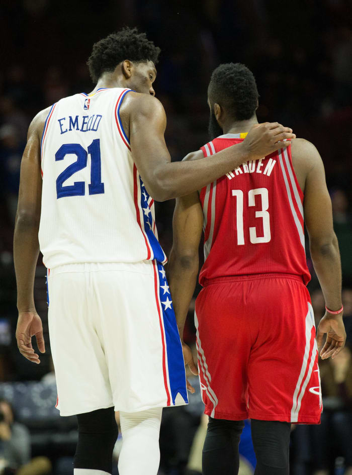 After trading for Harden, the Sixers finish the season a tear