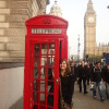 A student studying abroad with Brigham Young University: London - London Study Abroad
