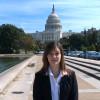 A student studying abroad with American University: Washington D.C - Washington Semester Program