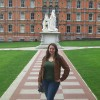A student studying abroad with Direct Enrollment: Royal Holloway, University of London
