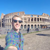 A student studying abroad with AIFS: Rome - Richmond in Rome