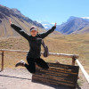 A student studying abroad with SIT Study Abroad: Argentina - Public Health in Urban Environments