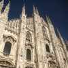 A student studying abroad with Global Experiences: Internships in Milan, Italy