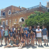 A student studying abroad with SUNY Geneseo: Traveling - Mediterranean Roots Summer Program