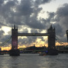A student studying abroad with CEA: London, England
