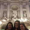 A student studying abroad with CEA: Rome, Italy