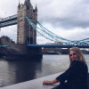 A student studying abroad with CAPA The Global Education Network: London Study or Intern Abroad