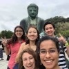 A student studying abroad with Middlebury Schools Abroad: Middlebury in Tokyo