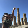 A student studying abroad with CYA (College Year in Athens) - Semester/Academic Year Program