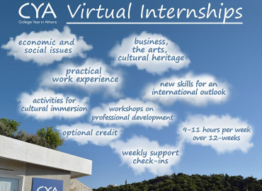 Study Abroad Reviews for CYA (College Year in Athens): Virtual Internships