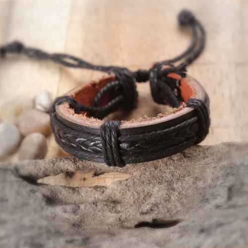 Faux Leather Bracelet for Men