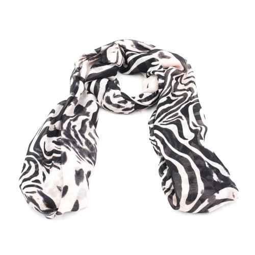 Zebra Calling Scarf