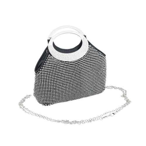 Black and Silver Studded Handbag