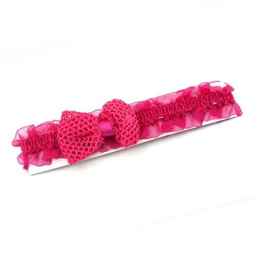 Pretty Dark Pink Bow Hair band for Kids