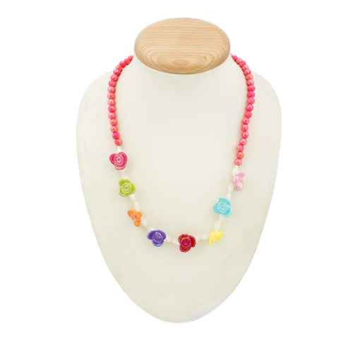 Set- Colorful Necklace and Bracelet for Kids