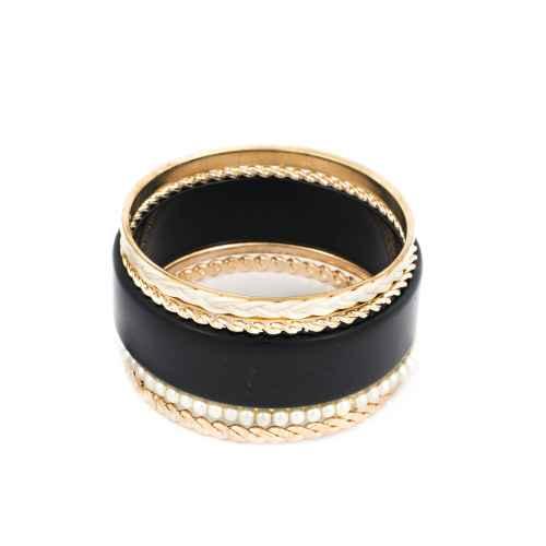 Black Shimmer Bangles
