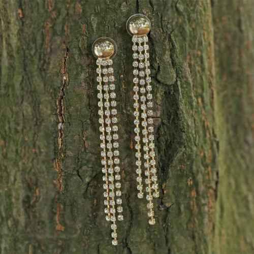 Golden Long Dangler Earrings