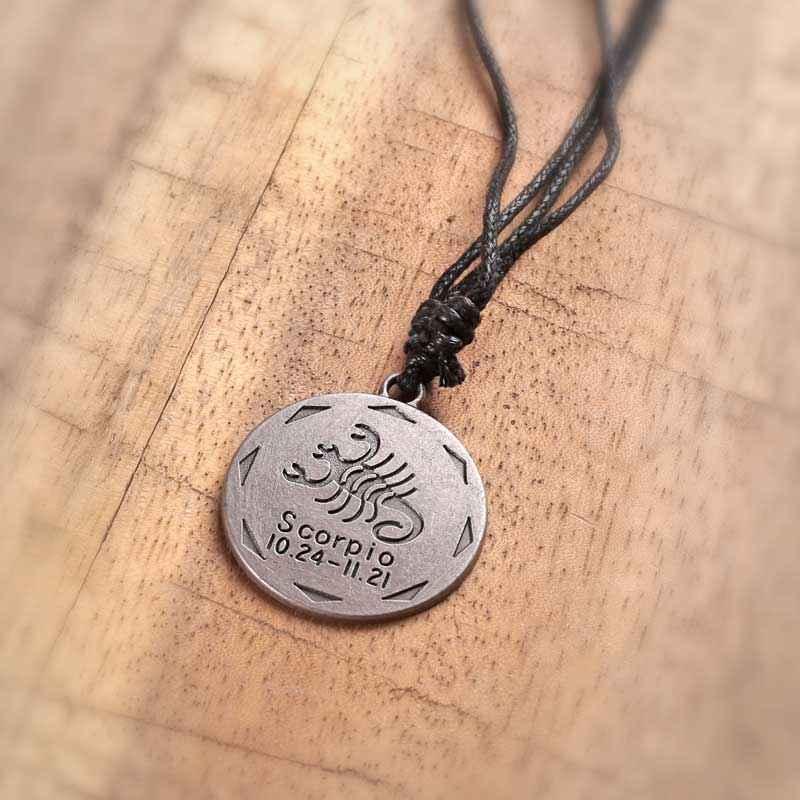 Zodiac sign scorpio pendant for men pendants men zodiac sign scorpio pendant aloadofball Images