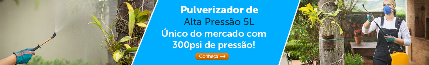 Pulverizador de Alta Pressão 5L. Aproveite!
