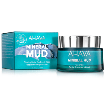AHAVA Mineral Muds Clearing Facial Treatment Mask 50 ml