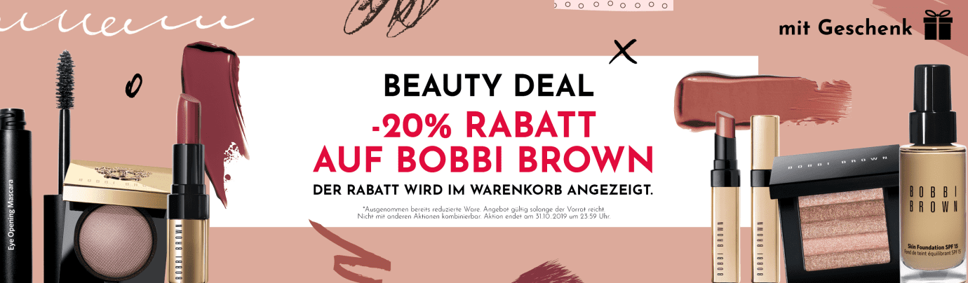 20% Rabatt auf Bobbi Brown