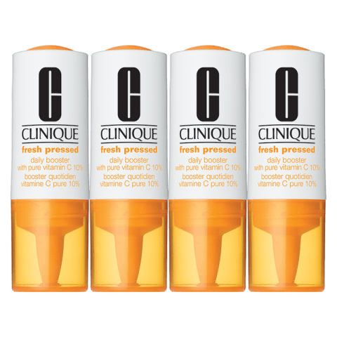 Clinique Fresh Pressed Daily Booster With Pure Vitamin C 4x8,5ml 1 Set