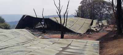 Deadly Bushfire Destroys Church Campground