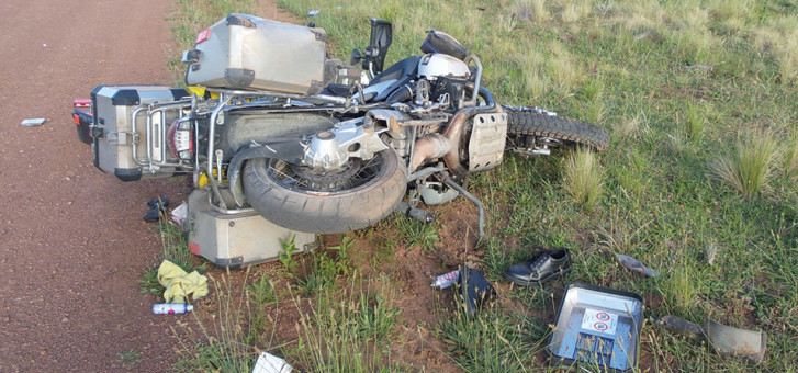 Adventist leaders in motorcycle accidents