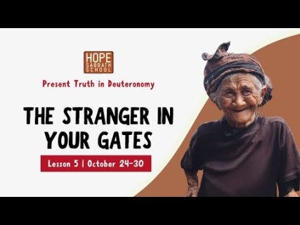 The Stranger In Your Gates