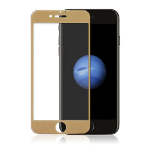 For iPhone 7 3D Full Cover Tempered Glass Screen Protector Gold