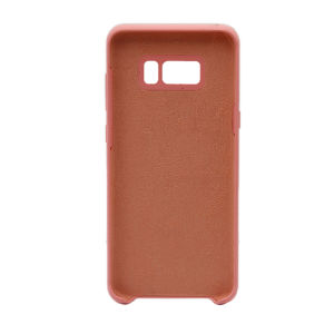 For Samsung Galaxy SM-G955F S8 Plus Silicone Plain Matte Case Pink
