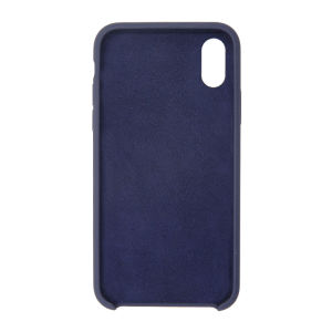 For iPhone X Silicon Case Midnight Blue