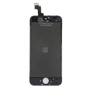 For iPhone 5 LCD Display OEM(TM) Black With Small Parts