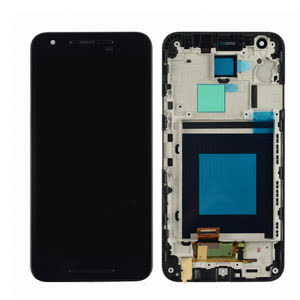 For LG Nexus 5X LCD Black Original With Frame