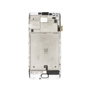 For One Plus 3 LCD with Frame White