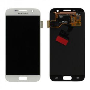 For Samsung SM-G930F S7 LCD Original Assembly White