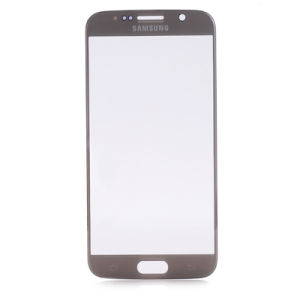 For Samsung Galaxy S6 Touch Glass Gold